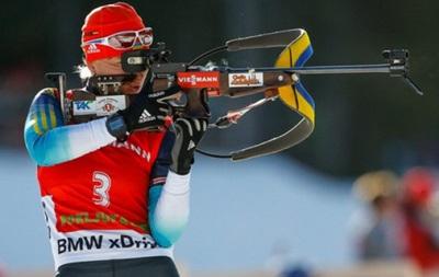 Биатлон: Женская сборная Украины заняла третье место в эстафетной гонке