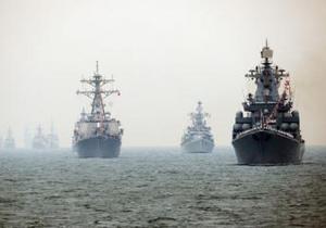 Россия направила к Сирии эскадру военных кораблей