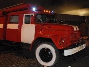 В Харькове в 12-этажном доме произошел пожар
