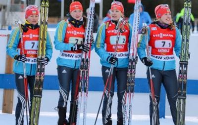 Стал известен состав сборной Украины по биатлону на чемпионате Европы