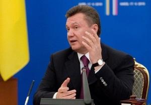 На пресс-конференции с Медведевым Янукович снова запутался в словах
