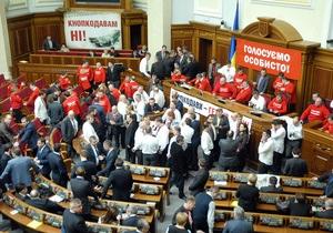 Партия регионов поддержит оппозицию в выборе представителя Кабмина для заслушивания в Раде