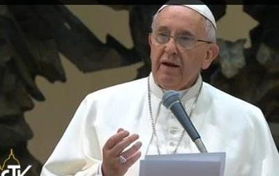 Папа Франциск обратился к украинцам: Это война между христианами
