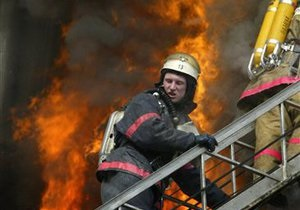 Киевлянин прыгнул с пятого этажа, спасаясь от пожара