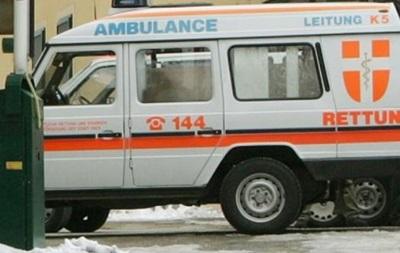 В Австрии из-за снегопадов столкнулись более 50 машин