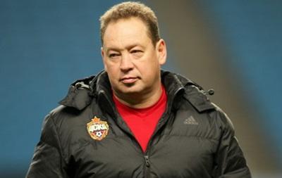 Тренер ЦСКА засмучений, що йому не вдалося провести матч з українцями