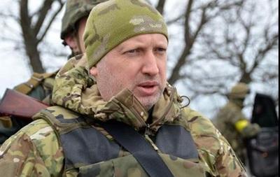 Турчинов рассказал о наступлении под Мариуполем