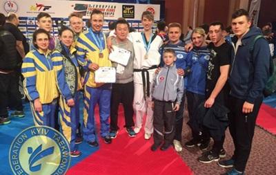 Україна завоювала дві медалі на чемпіонаті Європи з тхеквондо