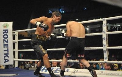 Украинский боксер Виктор Плотников проведет титульный поединок в конце февраля