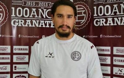 Млинець на голову: Аргентинський футболіст впустив собі на голову штангу