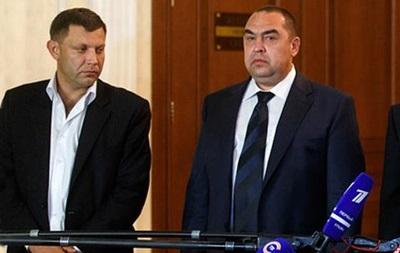 Главы ДНР и ЛНР находятся в Минске - СМИ