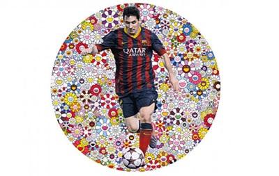 Картина с изображением Месси может быть продана на аукционе за 400 тысяч евро
