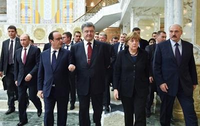 Участники переговоров в Минске прервались на ужин