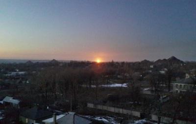 В Луганской области из-за обстрелов загорелся газопровод