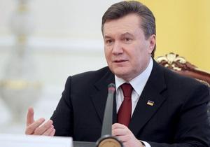 Янукович позволил Нафтогазу ограничивать потребление газа предприятиям-должникам