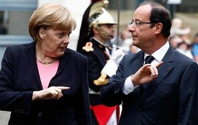 Меркель и Олланд обеспокоены обстрелами Дебальцево