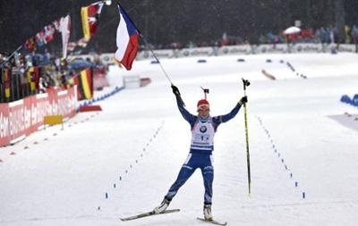 Биатлон: Сборная Чехии выиграла женскую эстафету, украинки - шестые