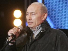 Путин вышел на сцену Евровидения