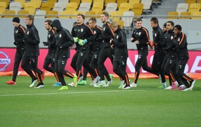 Шахтер провел открытую тренировку перед матчем с Баварией