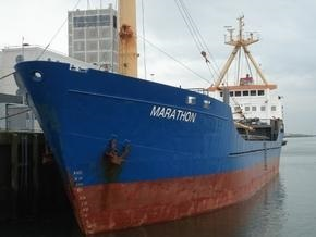 В ближайшие часы Marathon прибудет в один из портов Кении