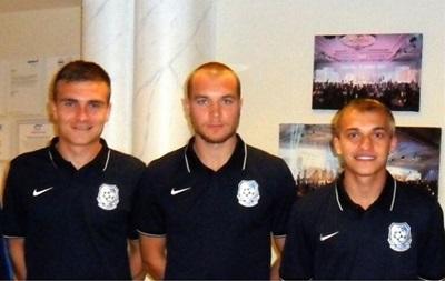 Черноморец усилился тремя украинскими футболистами