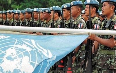Порошенко хочет пригласить миротворцев ООН в Донбасс