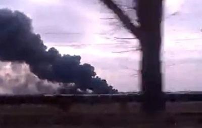 В Авдеевке горит грибная ферма Колесникова