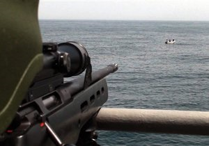 Частная охрана впервые застрелила сомалийского пирата, защищая торговое судно