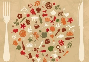 Рецепт: Салат из свежих овощей с пряным творогом