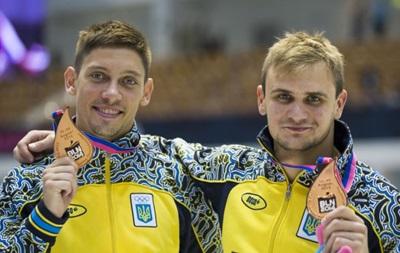 Украинцы завоевали золото на этапе кубка мира по прыжкам в воду