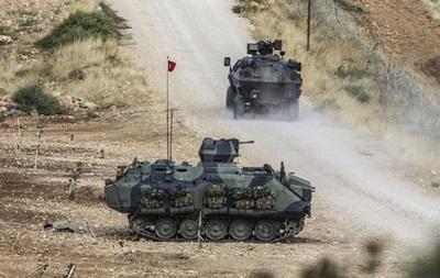 Туреччина провела обмежену військову операцію в Сирії