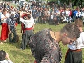 В Батурине проходит казацкий праздник