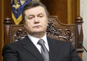 Янукович подписал закон о поддержке украинского кино