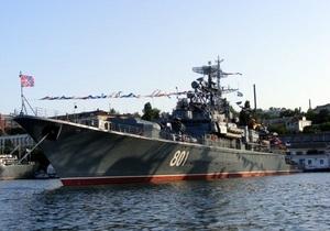 Украина готова обсуждать с Россией перевооружение Черноморского флота