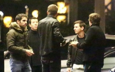 Месси и Пике отдохнули в казино перед матчем с Манчестер Сити