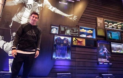Ліонель Мессі відкрив власний музей в магазині Adidas
