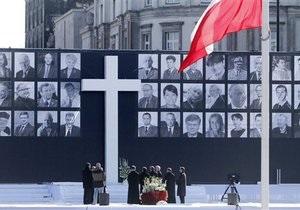 В Варшаве прощаются с погибшими в авиакатастрофе под Смоленском