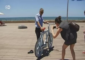 Картонный велосипед - дешево, экологично и даже ездит
