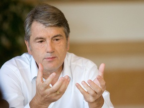 Ющенко: Об эпидемии гриппа было известно еще в начале октября