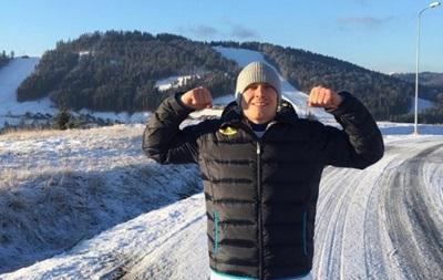 Олександр Усик в Карпатах розпочав тренувальний процес