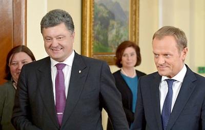 Порошенко призвал ЕС воздержаться от оптимизма по Донбассу