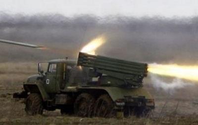 Новый этап отвода артиллерии: силы АТО убирают  Грады