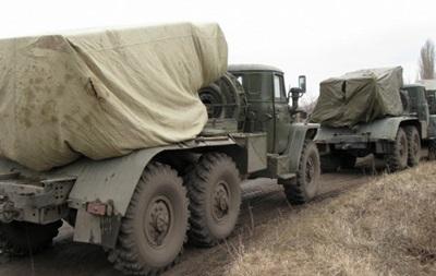 Військові відвели  Гради  в Луганській області