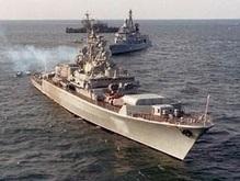 В Средиземном море встретились корабли трех флотов России