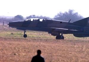 В Индии разбился МиГ-21