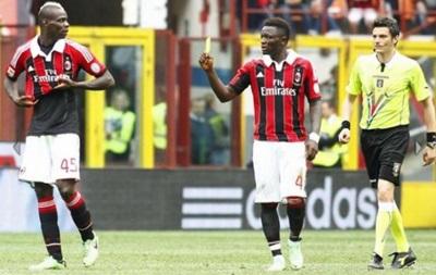 Балотелли защищает футболиста Милана от расистских высказываний