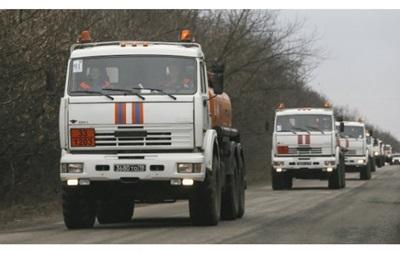 Россия готовит к отправке в Донбасс новый гумконвой