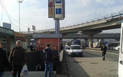 Біля метро Видубичі в Києві стався вибух