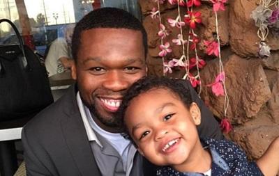 Двухлетний сын рэпера 50 cent получил контракт на 700 тысяч долларов