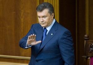 Тест на зрелость. Янукович ждет от парламента принятия нового закона о выборах